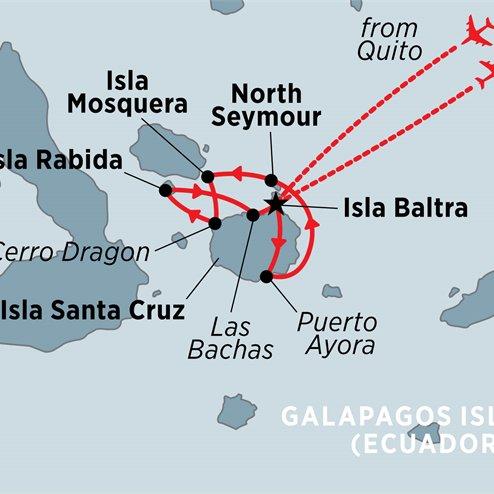 Galapagos Explorer: Central Islands (Grand Queen Beatriz)