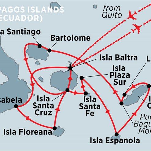 Treasures of the Galapagos: Western & Central Islands (Grand Queen Beatriz)