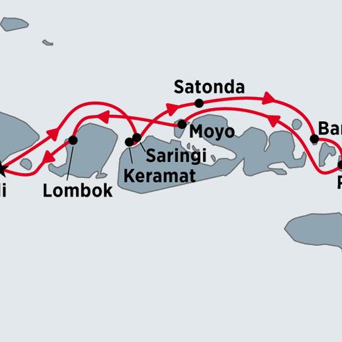 Indonesian Island Cruise