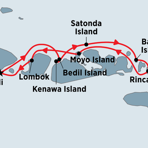 Indonesian Island Cruise