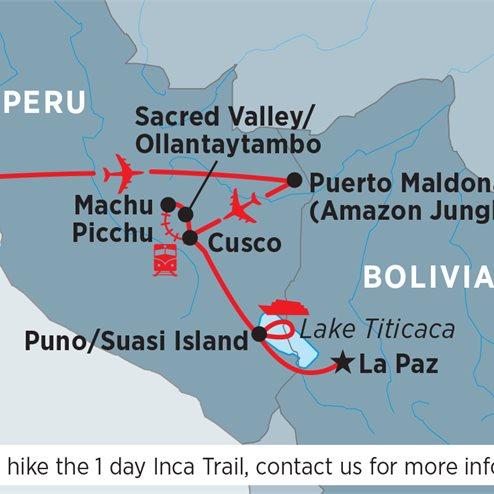 Amazon Jungle & Inca Adventure