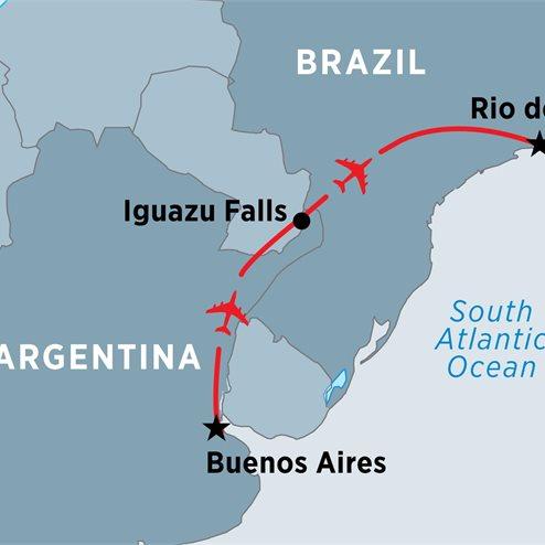 Argentina & Brazil Highlights