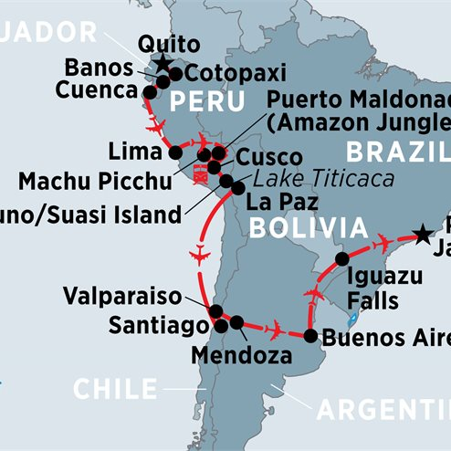 South America in Depth