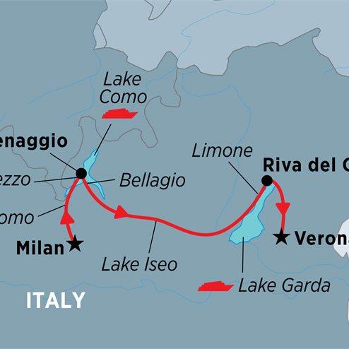 Walking in Italy: The Italian Lakes