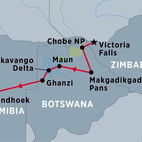 Experience Botswana