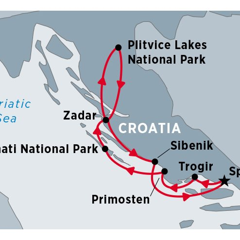 Cruising Croatia's Central Coast