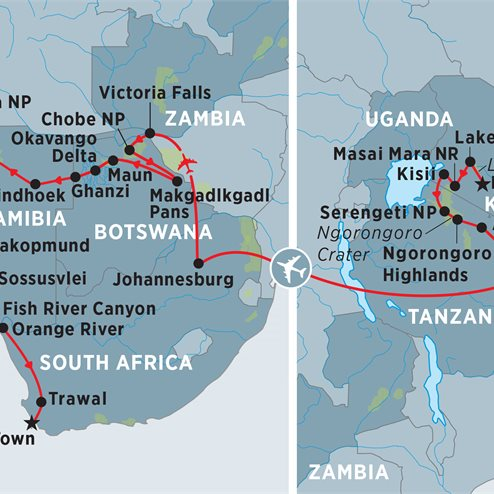 Classic Africa Safari