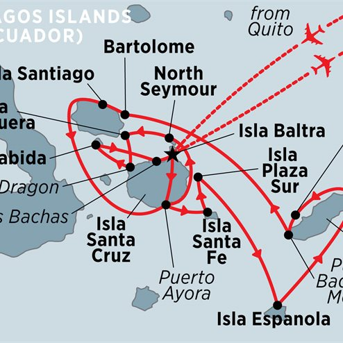 Galapagos Voyager: Central Islands (Grand Queen Beatriz)