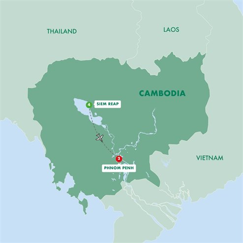 Secrets of Cambodias Angkor and Phnom Penh Summer 2019