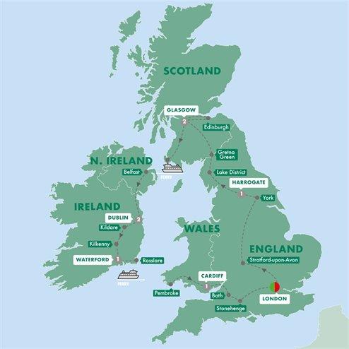 Britain and Ireland Highlights Summer 2019