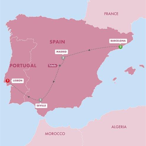 Great Iberian Cities Summer 2019