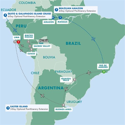 South America Revealed Summer 2019
