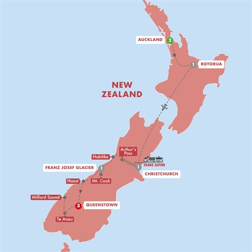 Contrasts of New Zealand Summer 2019