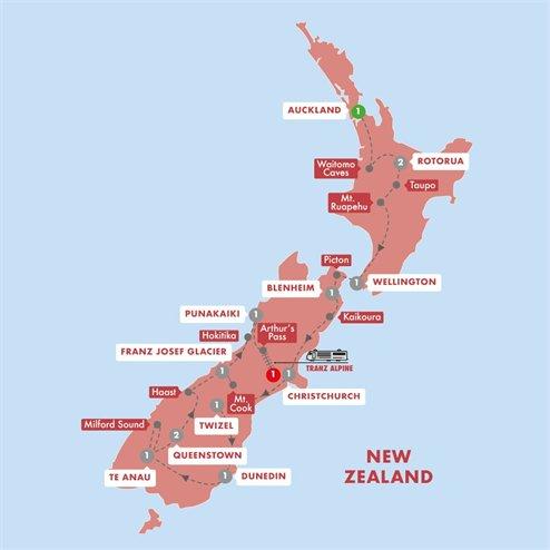New Zealand Splendour Summer 2019