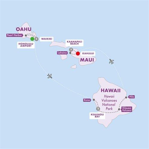 Hawaiian Explorer Moderate Summer 2019