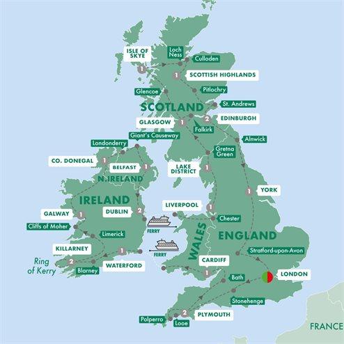 Britain and Ireland Grandeur Summer 2020