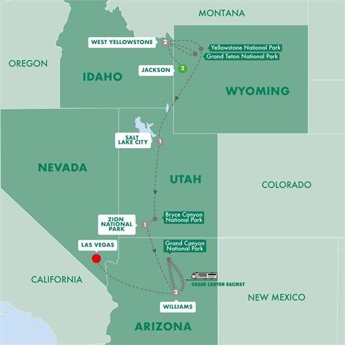 Five Epic National Parks Summer 2019